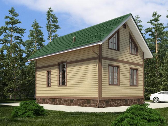 Печки в каркасных домах