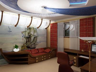 дизайн детской спальни в квартире