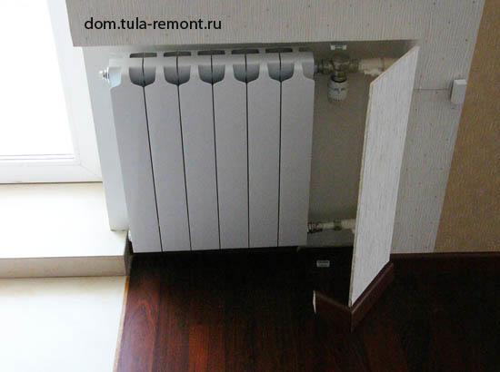 Регулировка контуров теплого пола водяного